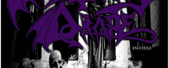 24 y 25 de Abril: Mortuary Drape en Chile
